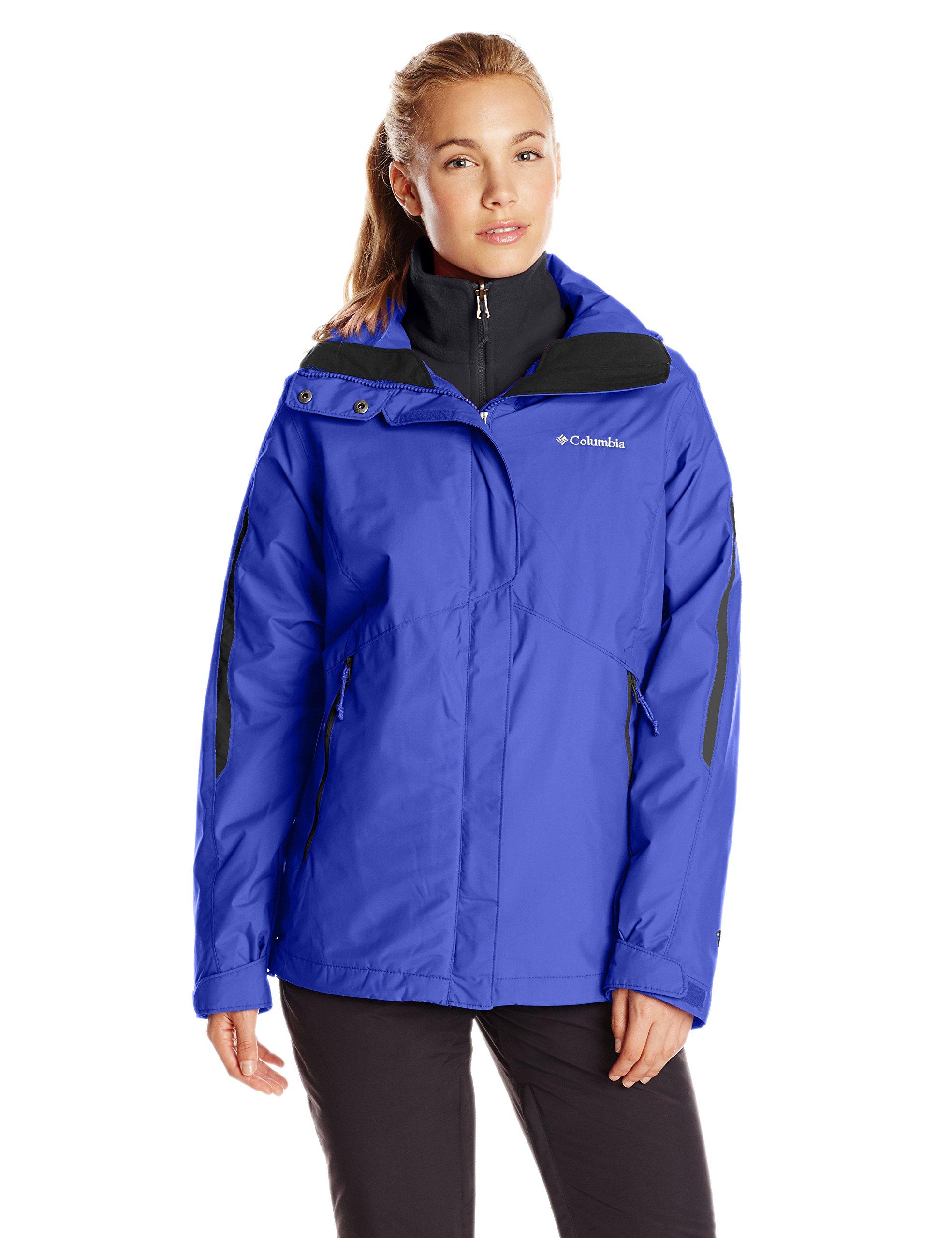 Columbia Women's Bugaboo Interchange Jacket, Clematis Blue, X-Large