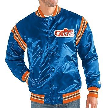 Cleveland Cavaliers NBA hombres Juego de la Enforcer Hwc Logo Premium satén chaqueta: Amazon.es: Deportes y aire libre