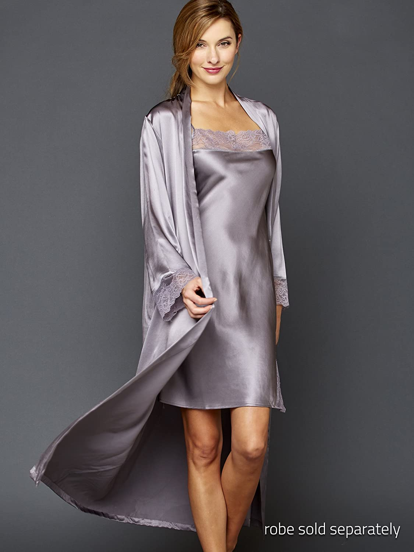 Julianna Rae Womens Allura 100/% Silk Chemise