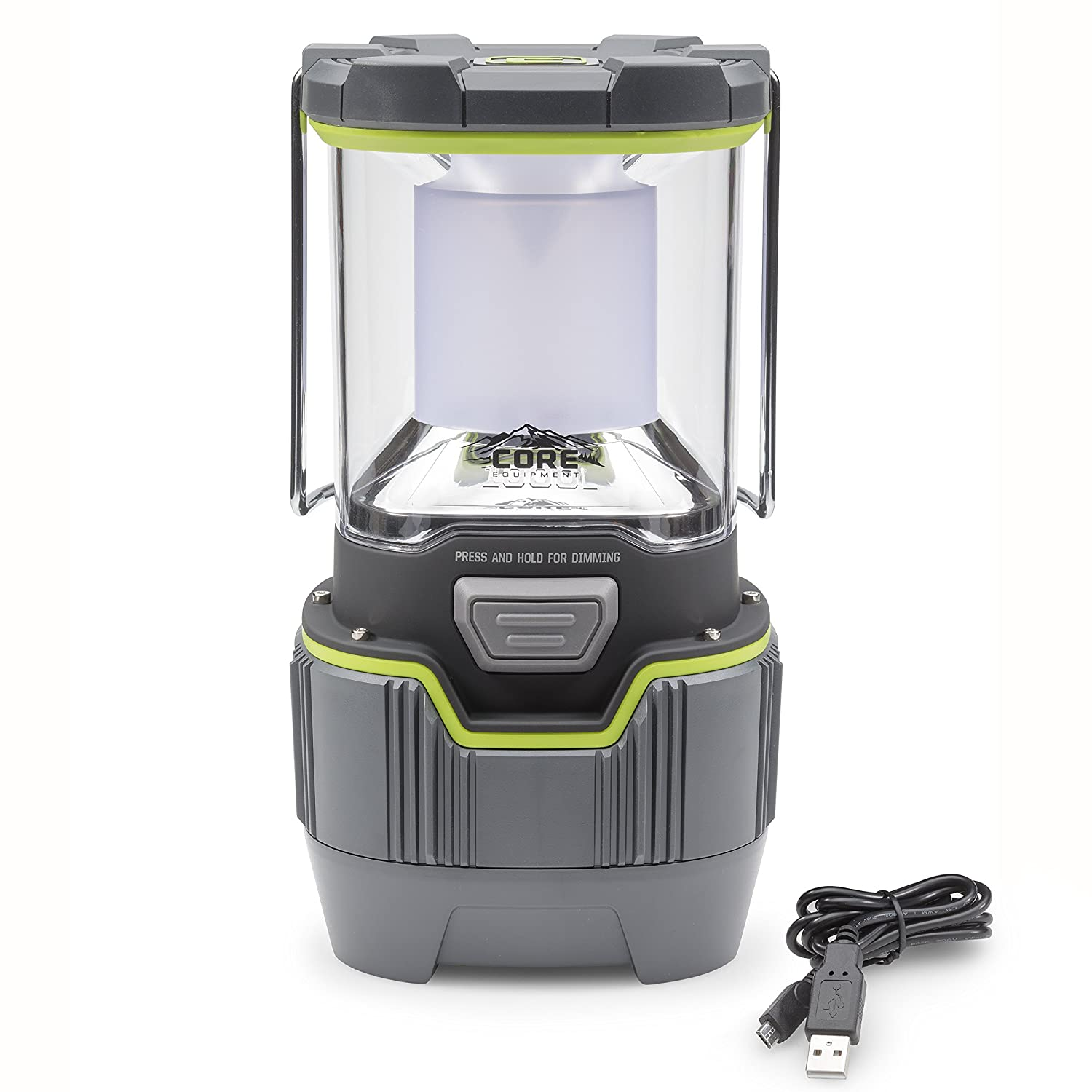 2. CORE 1000 Lumen CREE LED Rechargeable Camping Emergency Lantern