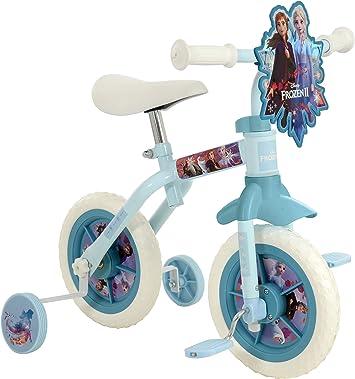 Disney Frozen M004205 2 2 en 1 Bicicleta de Entrenamiento de 10 ...