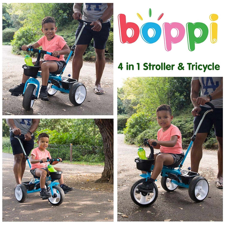 boppi Triciclo 4 en 1 para Niños de 9 a 36 Meses - Rosa: Amazon.es: Juguetes y juegos