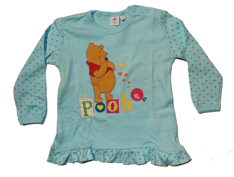 Disney Baby Winnie Puuh Baby M/ädchen Langarmshirt