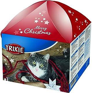Trixie Cajita Navideña Regalo para Gatos, 5 artículos.