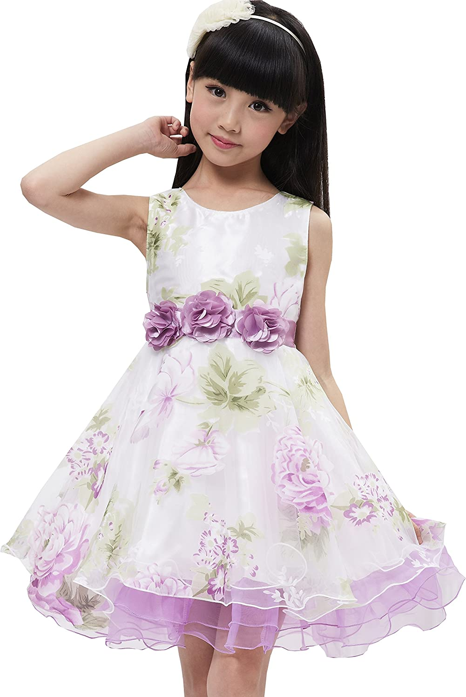Amazon Sunny Fashion Girls Dress Tulle Bridal Lace With Flower
