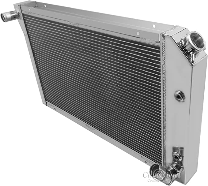 Radiator-2 Row All Aluminum Replacement Champion Cooling Systems EC829