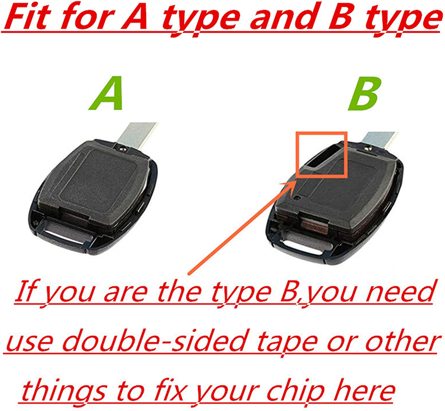 2 packs BINOWEN 3+1 Buttons Replacement For Key Fob Shell Keyless Entry Remote Honda Key Fob Case With Screwdriver Fit For Honda 2008-2012 Accord,2006-2013 Civic EX,2009-2015 Pilot Only Casing
