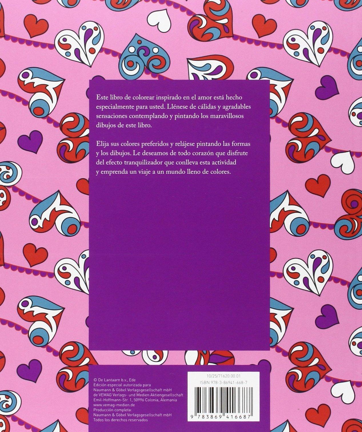 Corazones: Colorear contra el estrés para adultos: VV.AA.: 9783869416687: Amazon.com: Books