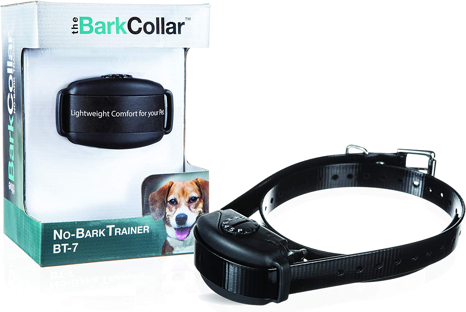 Amazon Com Dogwatch The Barkcollar No Bark Training Collar With Bark Forgiveness Auto Adjusting Levels Bark Counter And Rechargeable Battery Pet Supplies