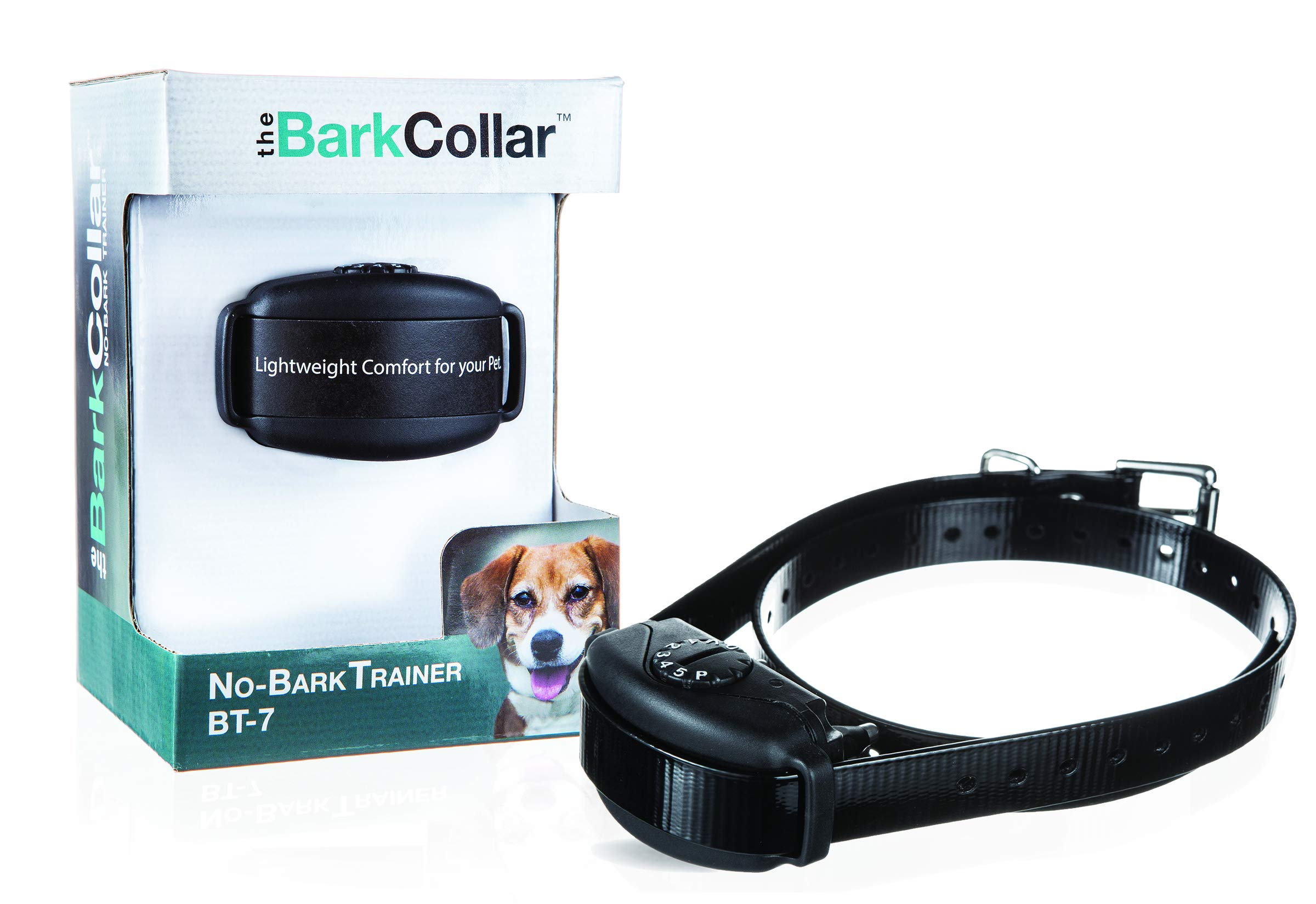DogWatch The BarkCollar No-Bark Training Collar with Bark Forgiveness, Auto-Adjusting Levels, Bark Counter, and Rechargeable Battery by DogWatch
