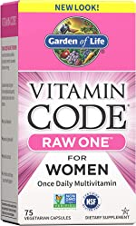 Garden of Life Vitamin Code Raw One for Women, Once Daily