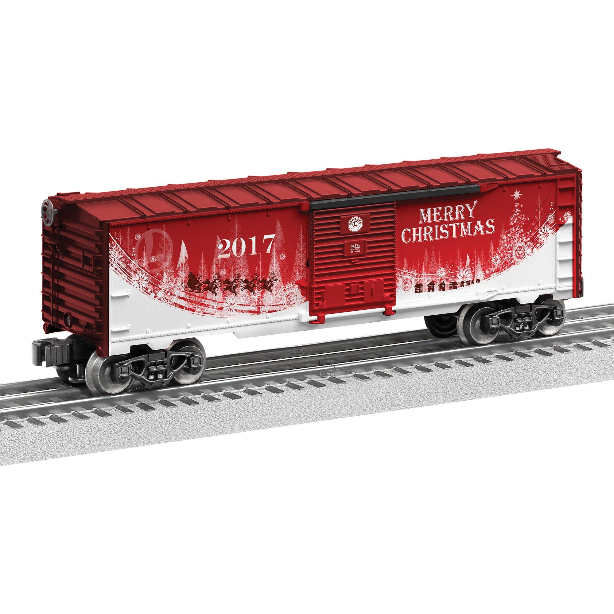 Lionel 2017 Christmas Boxcar Train
