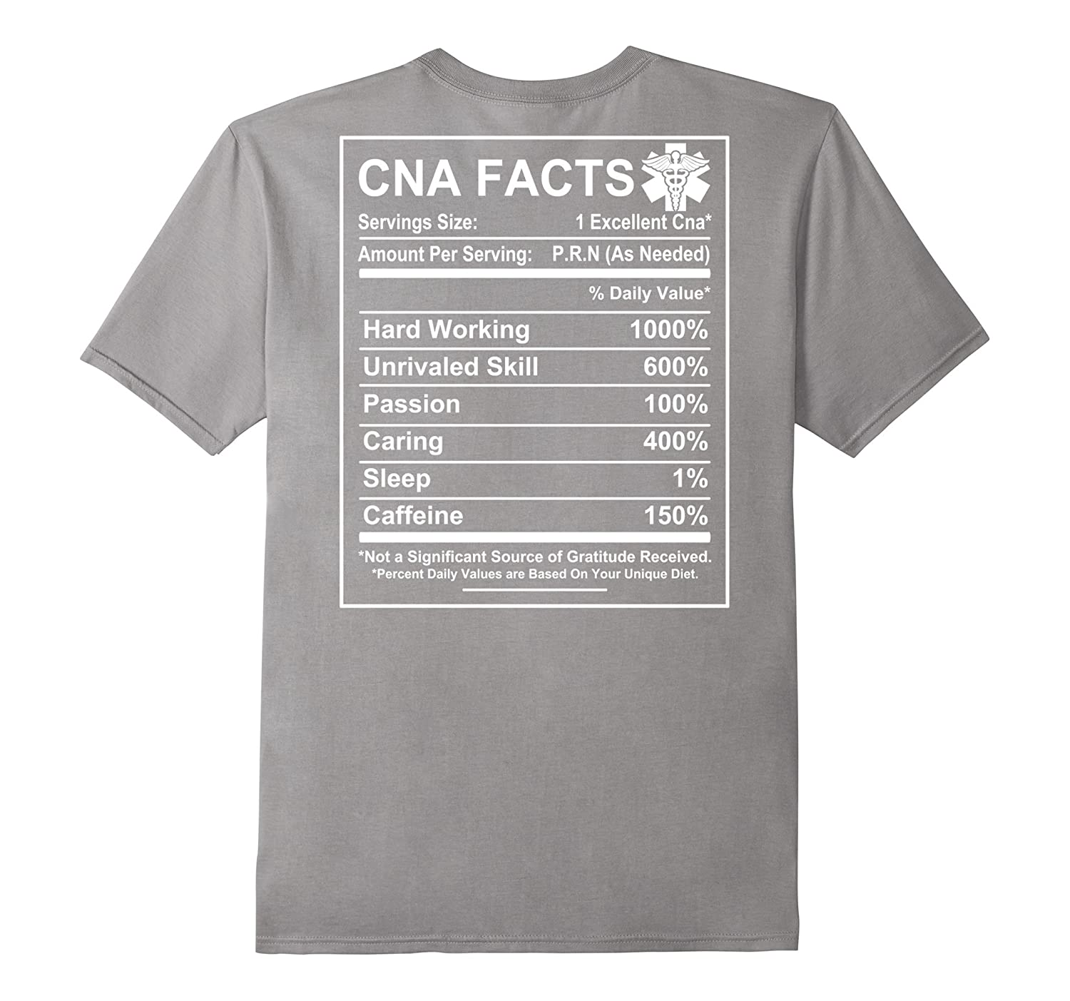 99e4a1f081 CNA Facts – Funny CNA saying T-shirt – CNA gifts – Ticalolo.com