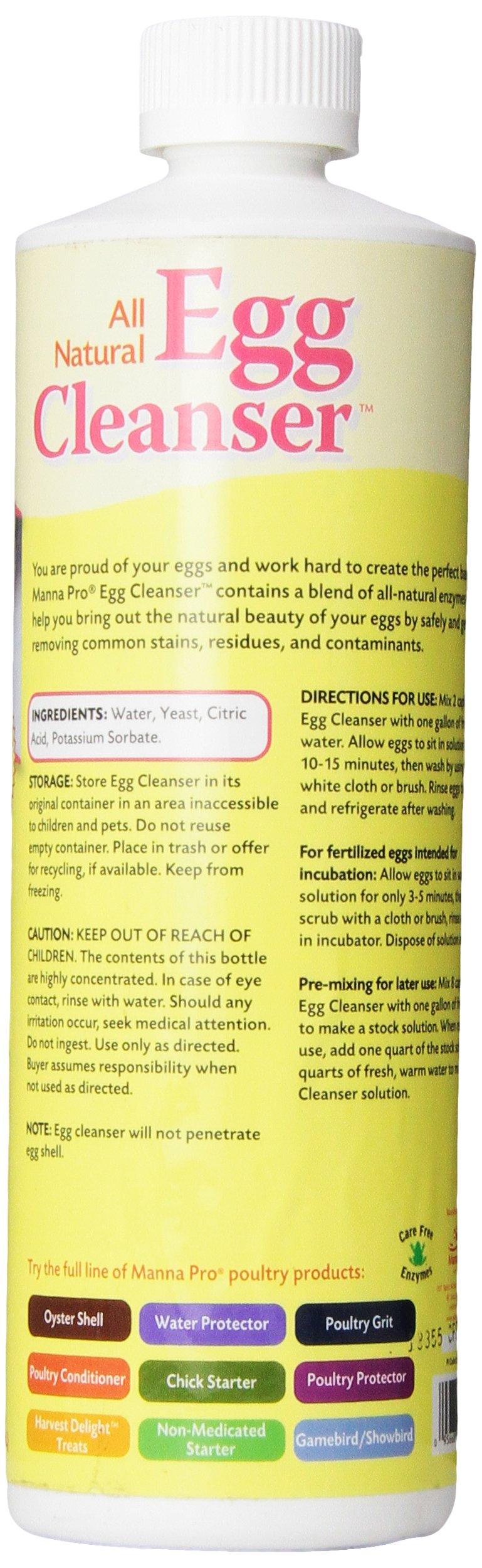 Manna Pro-Farm 667743 Egg Cleanser, 16 oz by Manna Pro