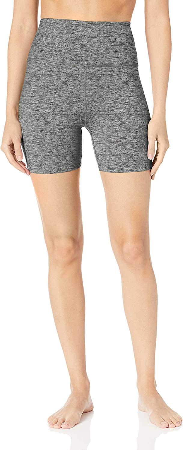 "Brand - Core 10 Women's (XS-3X) 'All Day Comfort' High Waist Yoga Short - 5"": Clothing"