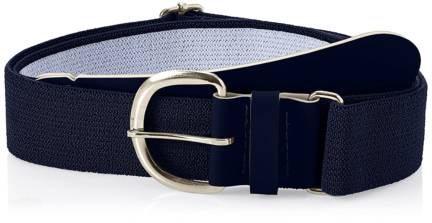 Black, 28-52-Inch Champro Elastic Baseball Belt with 1.5-Inch Synthetic Tab