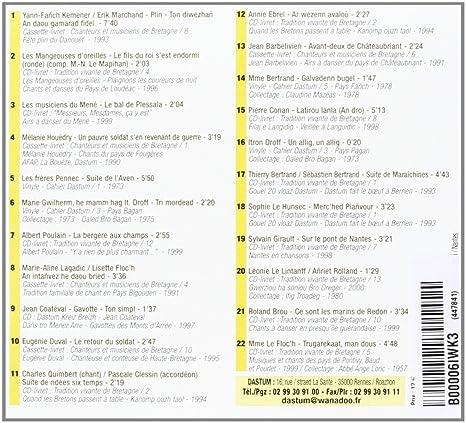 Dastum - 30 Ans DEditions Sonores: Compilation: Amazon.es ...