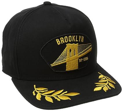 bdc276a5 Goorin Bros. Men's Brooklyn Steel Hat, Black, One Size at Amazon ...