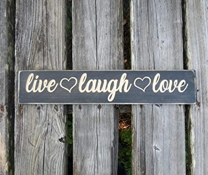 Amazoncom Diuangfoong Live Laugh Love Sign Live Laugh Love Home