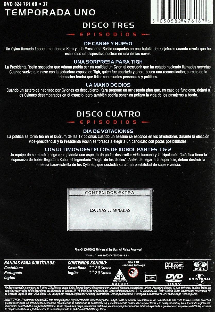 Amazon.com: Battlestar Galáctica 2004 (1ª Temporada) (Import Movie) (European Format - Zone 2) (2007) Jamie Bamber; Jam: Movies & TV
