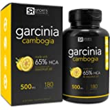 Pure Garcinia Cambogia Extract with 65% HCA; Made In USA; Infused with Coconut Oil for better Absorption; 180 liquid softgels.