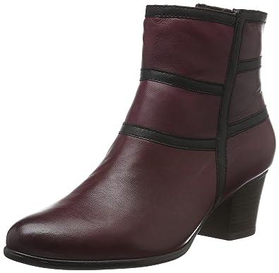 Elegante Tamaris Rouge Femme Chaussures Bottes Femme