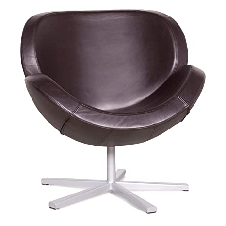Awesome Boconcept Shelly Designer Leather Armchair Brown Genuine Inzonedesignstudio Interior Chair Design Inzonedesignstudiocom