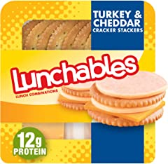 Lunchables Turkey & Cheddar Cheese with Crackers Snack Kit (3.2 oz Tray)