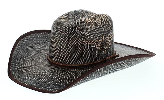 Justin Men s Bent Rail Blue Fenix Straw Hat Blue 6 7 8  Amazon.ca ... af34b8ded22