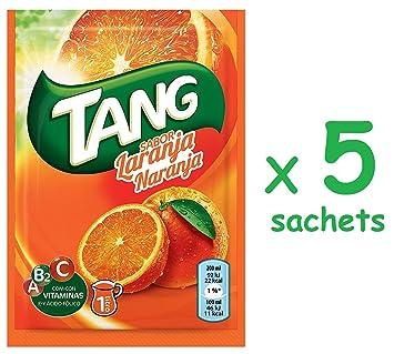 Cmagic® - 5 bolsas de 30 g de polvos Tang de naranja para 5 litros