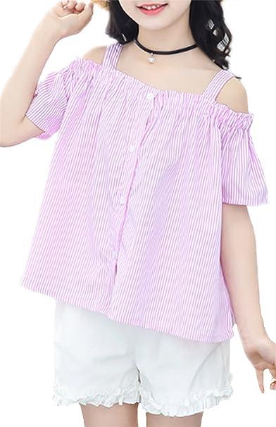 49da453025b81 ZKKK 子供服 上下2点セット 夏 女の子Tシャツ ショートパンツ レース プリンセス ガールズ