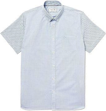 Lacoste - Camisa Punto Manga Corta Hombre - Ch9984: Amazon.es: Ropa y accesorios