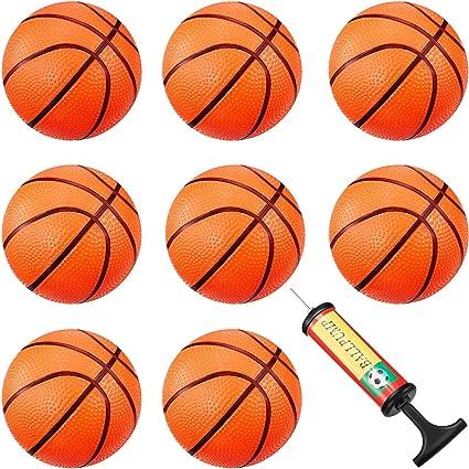 Amazon.com: 8 piezas Mini Baloncesto Mini Aro Baloncesto ...