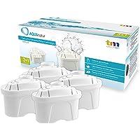 TM Electron Pack de 4 a 8 Meses de Filtros de Agua Compatibles con Las Jarras Maxtra, Multicolor, 4 Unidades