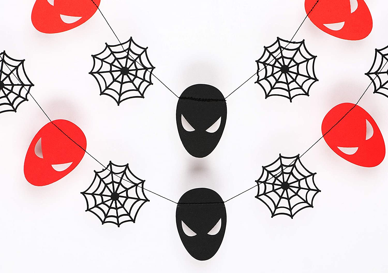 Seyal Spiderman Garland - Birthday Decorations,Party Decorations,Party décor,Creative Decoration