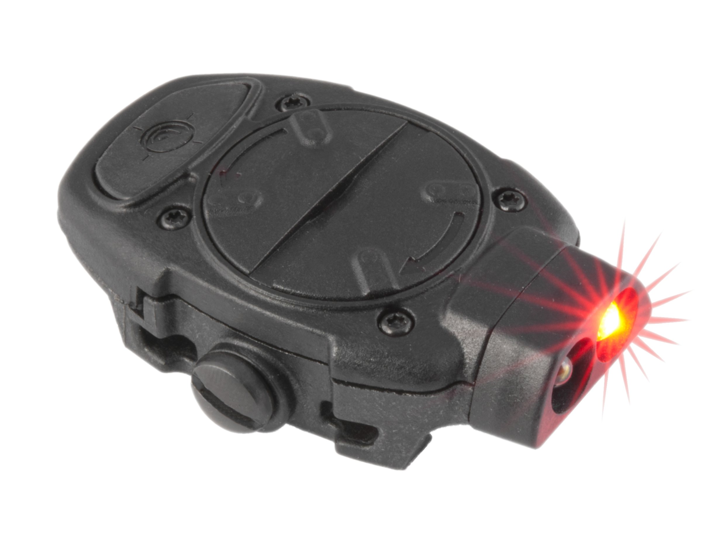 Mission First Tactical Torch Back Up Picatinny Mounted Light, White/Red