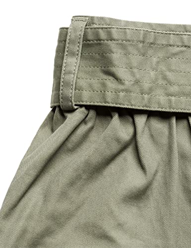 Replay Women's Women's Light Military Mini Skirt in Size M Green:  Amazon.co.uk: Clothing