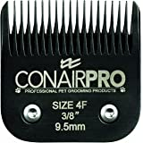 Conair Pro Pet Clipper Size 4F Steel Replacement Blade, 9mm