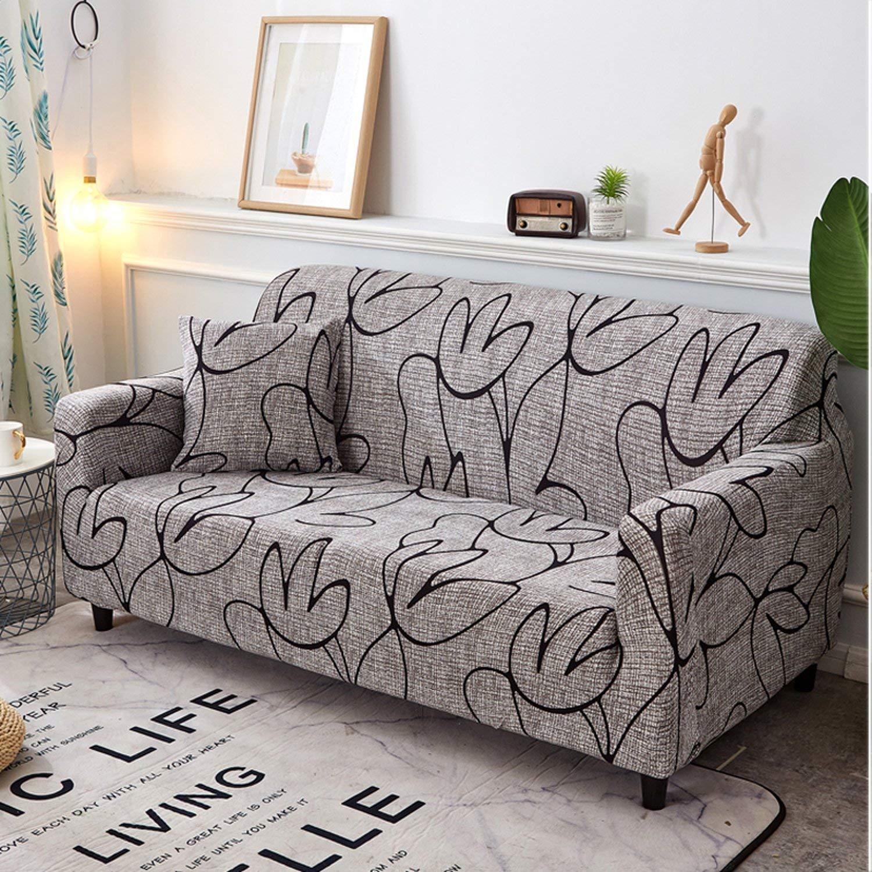 Amazon.com: No Buy No Bye Geometric All-Inclusive Sofa Cover ...
