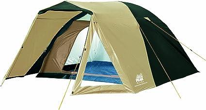Mehrfarbig Outwell Earth 4 Campingzelt f/ür 3 Personen Beige, Schwarz, Marineblau