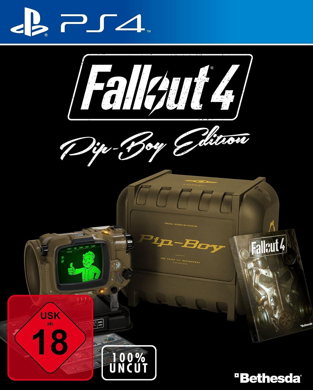 Fallout 4 Uncut Pip Boy Edition Playstation 4 Amazonde Games