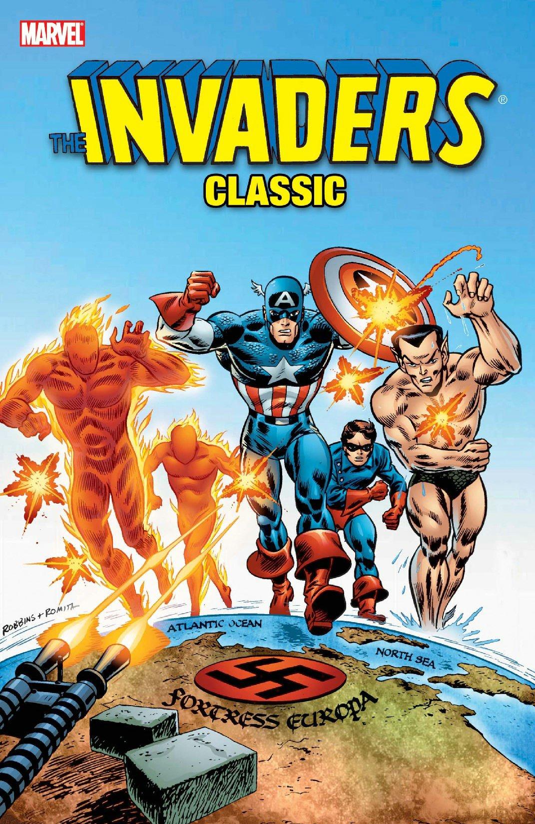 Amazon Invaders Classic Vol 1 Marvel Comics Avengers V 9780785127062 Roy Thomas Frank Robbins Rich Buckler Dick Ayers Don Heck Books