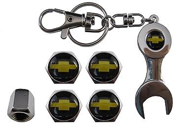 ETMA Valvulas de acero inoxidable para coche + llavero ...