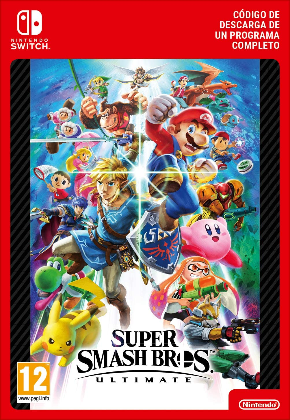 Super Smash Bros. Ultimate | Nintendo Switch - Código de descarga: Amazon.es: Videojuegos