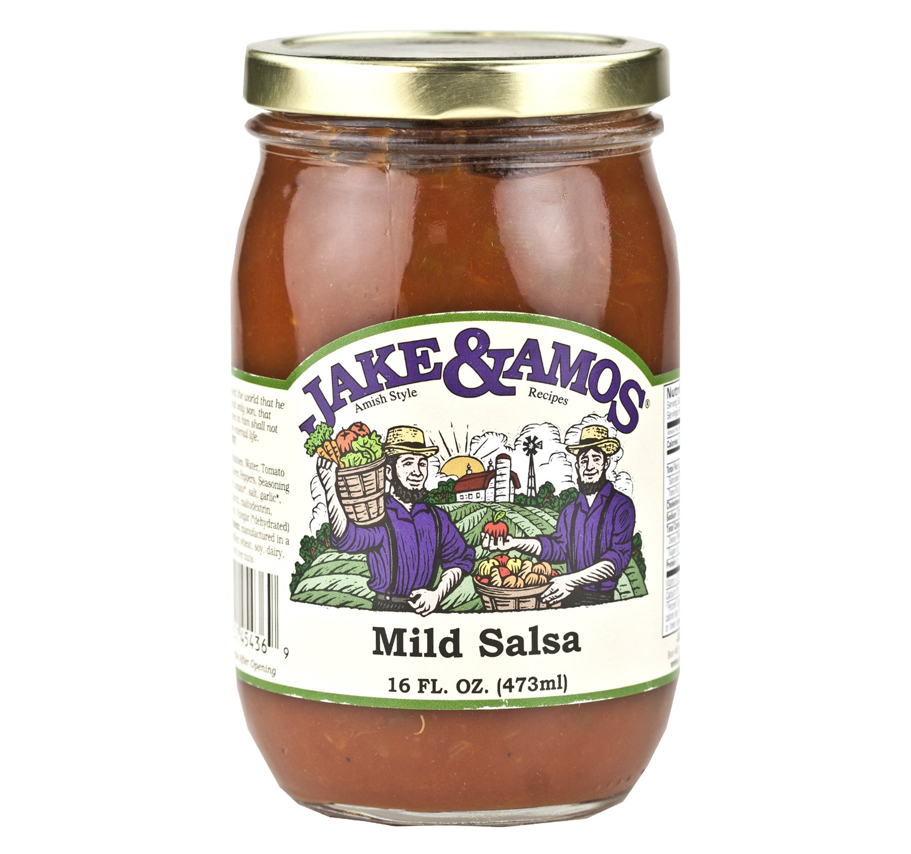 Jake & Amos Mild Salsa 16 oz. (3 Jars) by Jake & Amos