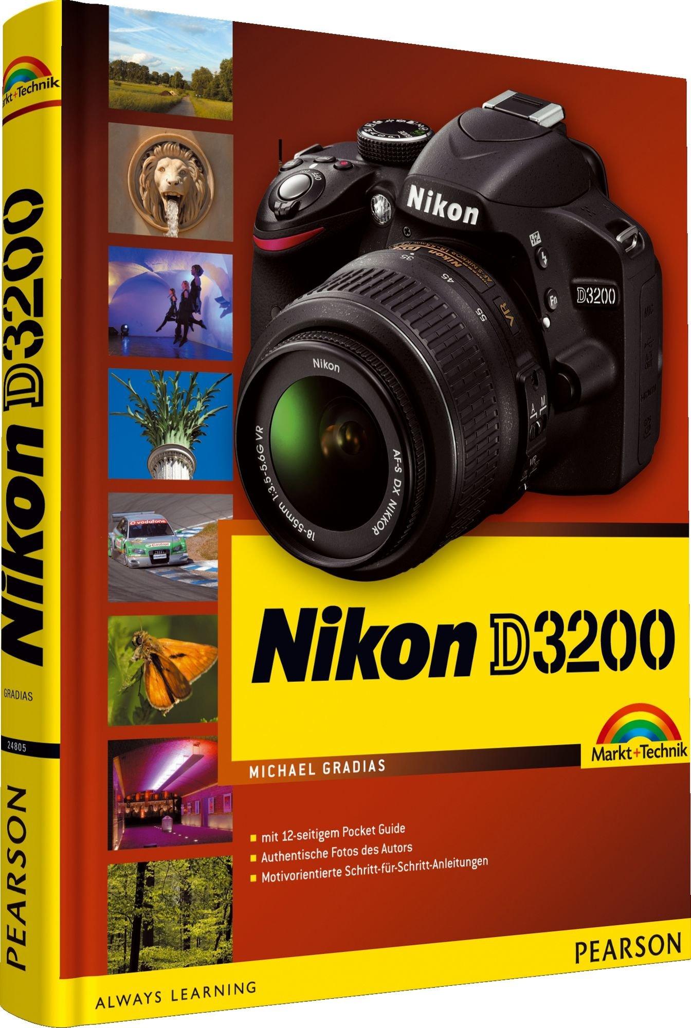 Nikon D3200: mit 12-seitigem Pocket Guide für unterwegs: Amazon.es ...