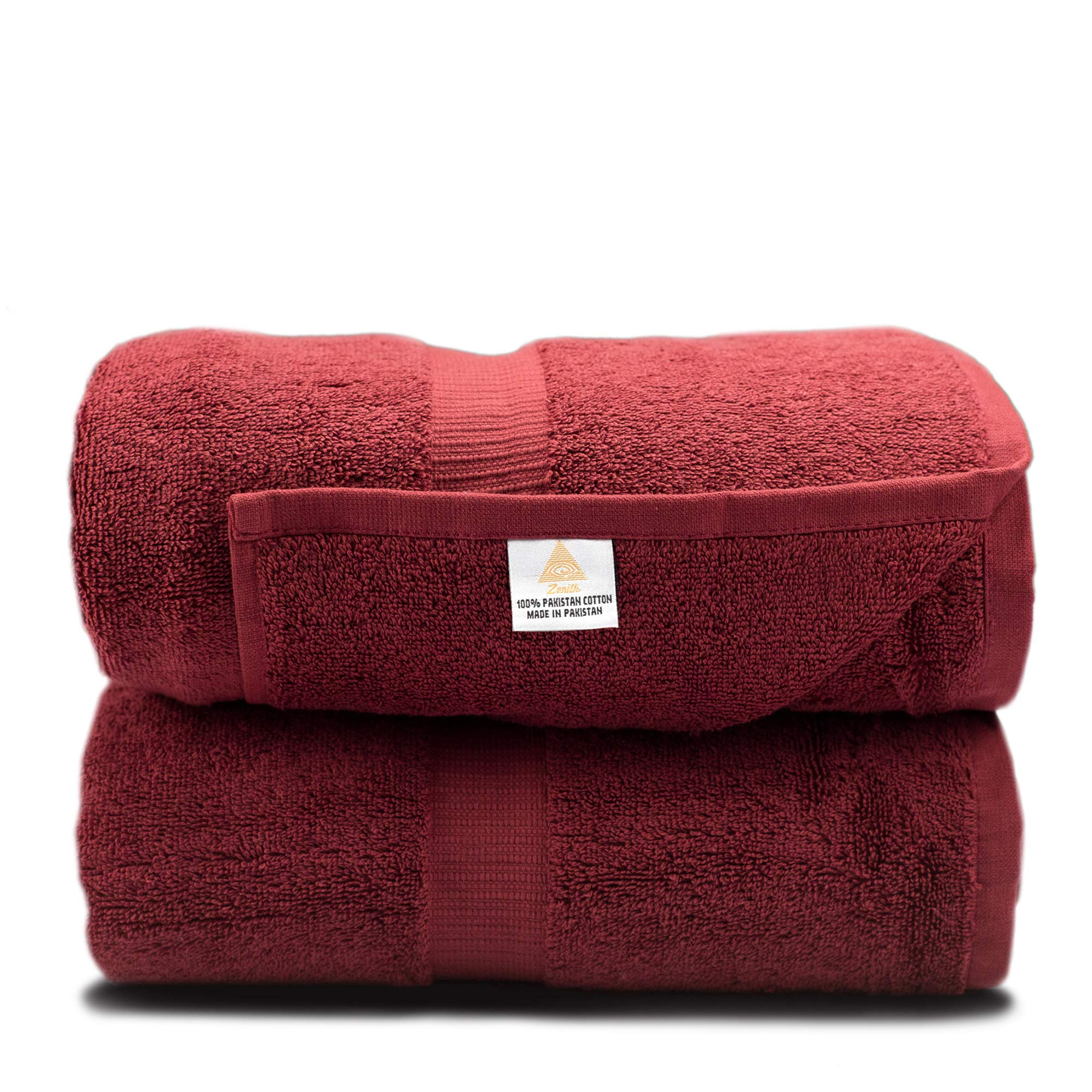 Zenith Luxury Bath Sheets - (2 Piece) Extra Large 40 X 70 Luxury Bath Towels, 900 GSM, High Absorbency, Thick and Heavy, 100% Cotton