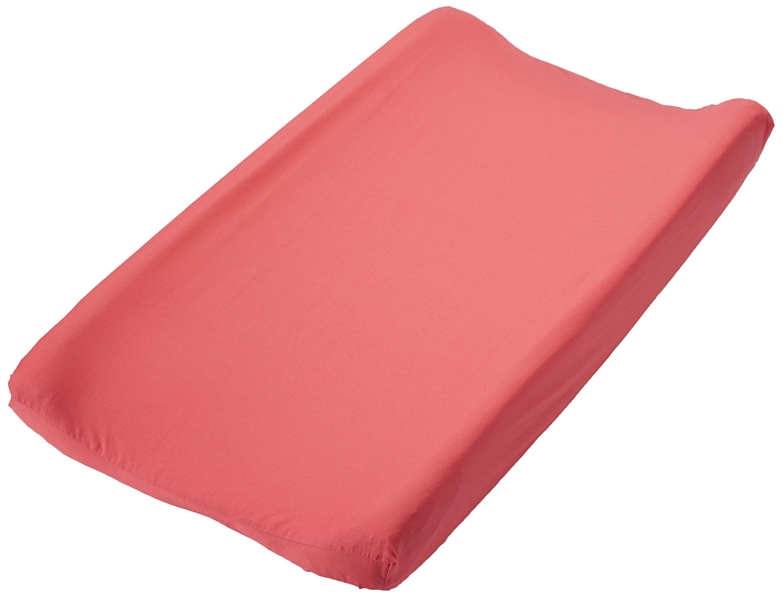 Trend Lab Waverly Pom Pom Play Changing Pad Cover, Coral