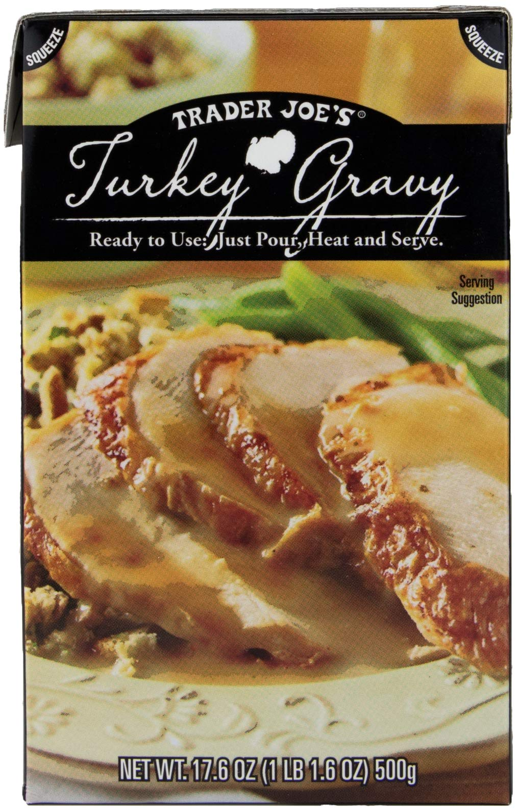 3 Boxes Trader Joes Turkey Gravy 17.6 Oz. Each by Trader Joe's