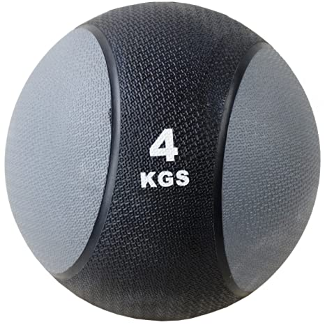 Balón medicinal 4 kg Crossfit Bootcamp Artes Marciales Fitness ...